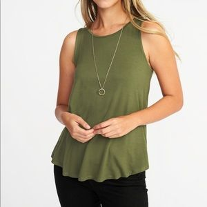 Luxe High-Neck Swing Tank